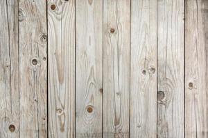 mise à plat de la table en bois photo