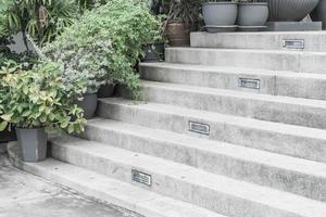 escalier en pierre vide photo