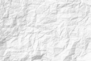 papier froissé blanc