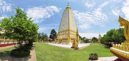 panorama wat phrathat nong bua en thaïlande