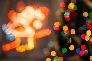 lumières de couleurs assorties photo