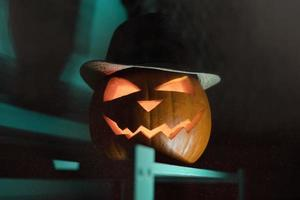 décor de jack o lantern photo
