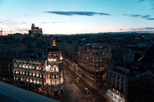photo aérienne de bâtiments