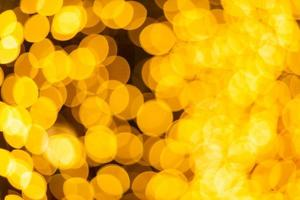 bokeh lumineux coloré jaune photo