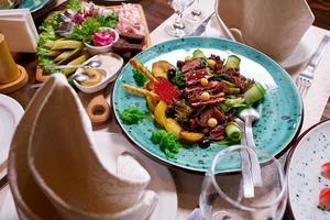 table pour un banquet photo