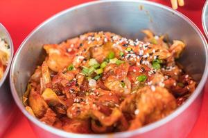 Porc bulgogi nourriture coréenne