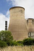 tour de refroidissement de la centrale électrique
