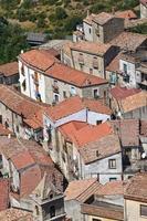 vue panoramique de valsinni. basilicata. Italie.