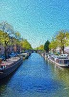 scène d'Amsterdam photo