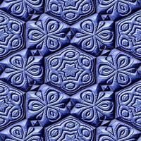 ornements mayas sans soudure embauche texture générée photo