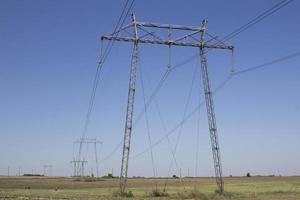lignes électriques haute tension photo