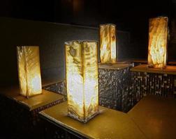 lumières avec effet plastique photo
