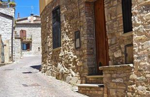 ruelle. guardia perticara. basilicata. Italie. photo