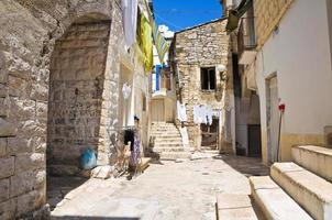 ruelle. minervino murge. les Pouilles. Italie. photo