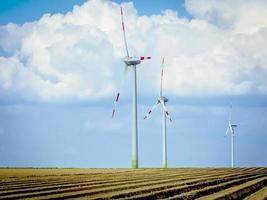 turbines éoliennes photo