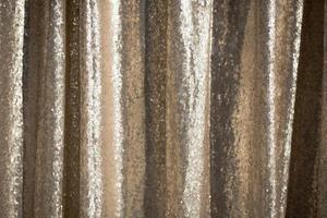 textile à paillettes d'or