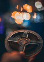 bobine à bobine ou bande de film