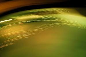 lumières vertes floues photo