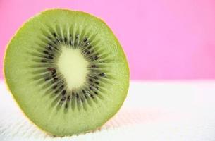 gros plan, de, tranche kiwi photo