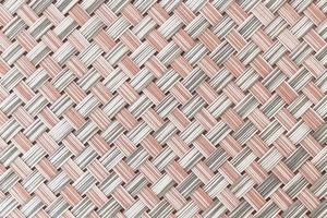 texture de tapis de plaque photo