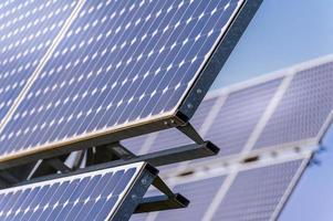panneaux solaires photo