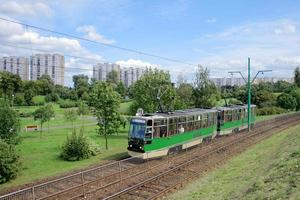 tram sur son parcours photo