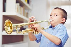 petit trompettiste photo