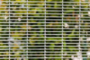 Texture de clôture de type brc avec fond de verdure