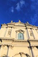 façade de l'église photo
