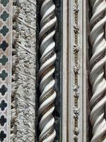 orvieto - façade du Duomo photo