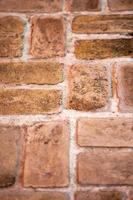 partie de fond de mur de brique photo