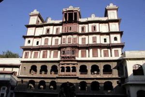 façade de holkar rajawada photo