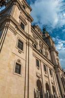 Façade de la cathédrale de Salzbourg photo