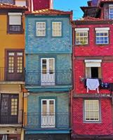 maisons colorées d'Oporto photo