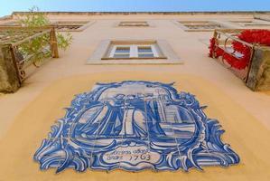 façade maison lisbonne photo