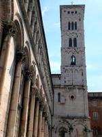 San Michele à Foro, Lucca, Italie photo
