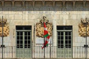 détail de la façade photo
