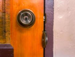 bouton de porte. photo