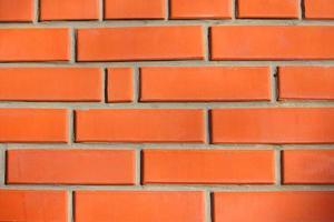Texture de fond architectural de mur de brique photo