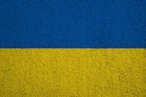 drapeau de l'ukraine photo