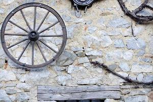 roue de wagon