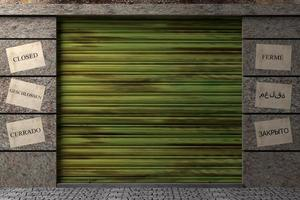 entrepôt 3d photo