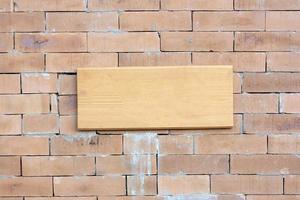 vieux panneau en bois photo