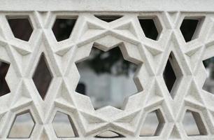 décoration en pierre de clôture photo