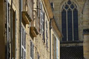 façades de maisons serlat-le-caneda photo