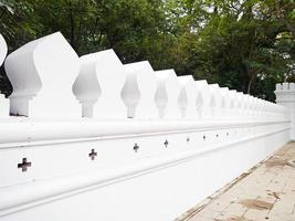mur blanc . photo
