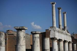 Forum romain de Pompéi, colonnade photo