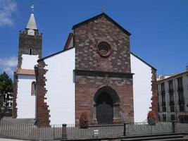 cathédrale de funchal, madère photo