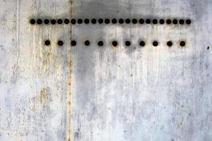texture de métal rouillé photo