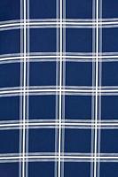 fond de texture de coton bleu et blanc